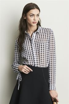 Soft Gingham Shirt