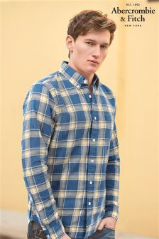 Abercrombie & Fitch Blue Check Shirt