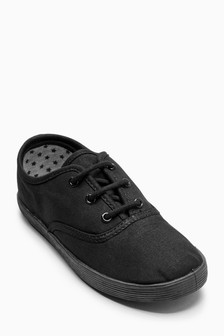 Lace-Up Plimsolls (Older Girls)