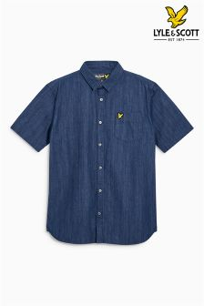 Lyle & Scott Blue Denim Shirt