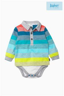 Ted Baker Multi Stripe Babysuit