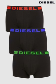 Diesel® Black Boxers Three Pack