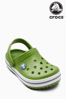 Crocs™ Green Crocband Clog