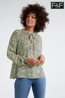 Joules Cream Rosamund Winterberry Pop Over Blouse