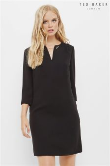 Ted Baker Black Joyita Tunic Dress