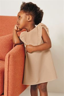 Frill Ponte Dress (3mths-6yrs)
