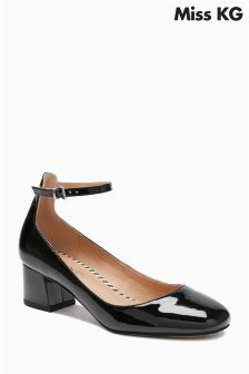 Miss KG Amber Black Patent Mary Jane Shoe