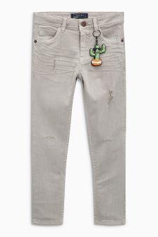 5 Pocket Distressed Jeans (3-16yrs)