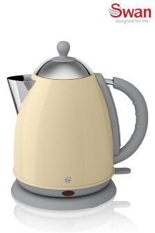 Swan Retro Cream Kettle