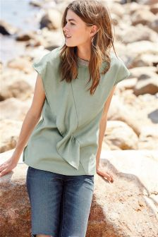 Frill Front Tee