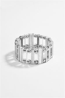 Hammered Detail Expander Bracelet