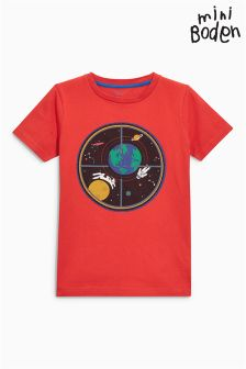 Boden Red Space T-Shirt