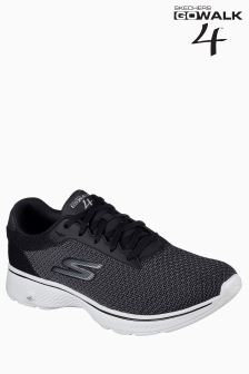Skechers® Black Go Walk Lace Up