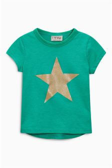 Glitter Star T-Shirt (3mths-6yrs)