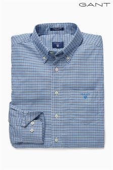 Gant Blue Comfort Oxford Shirt