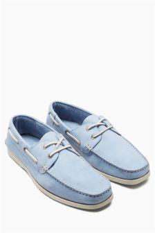 Nubuck Boat Shoe