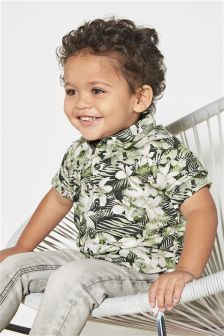 Floral Print Shirt (3mths-6yrs)