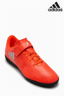 adidas X Red 16.4 Turf Velcro Football Boot