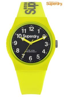 Superdry Urban Campus Yellow Watch