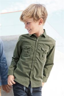Long Sleeve Utility Shirt (3-16yrs)