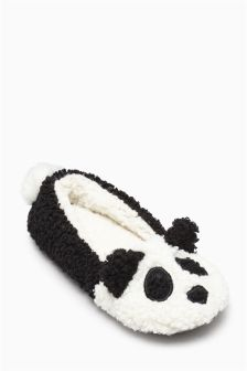 Panda Slippers (Older Girls)