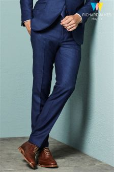 Richard James Birdseye Suit Trouser