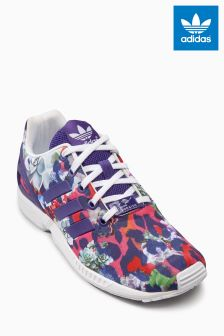 adidas Originals Pink/Purple Printed Flux