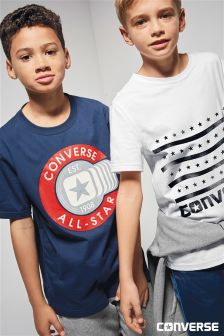 Converse All Star Navy Tee