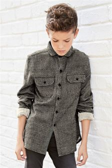 Long Sleeve Utility Overshirt (3-16yrs)