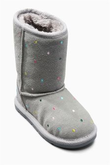 Spot Pull-On Boots (Younger Girls)