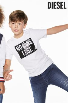 Diesel® White No One Else T-Shirt