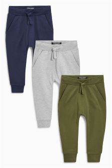 Super Skinny Fit Joggers Three Pack (3mths-6yrs)