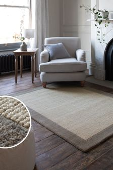 Darcy Border Rug Studio Collection By Next