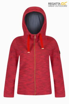 Regatta Red Marl Zip Through Fleece