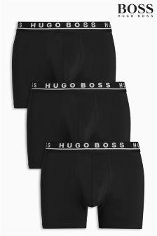 Boss Hugo Boss Longer Length Boxers Three Pack