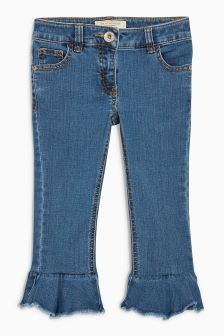 Frill Flare Skinny Jeans (3-16yrs)