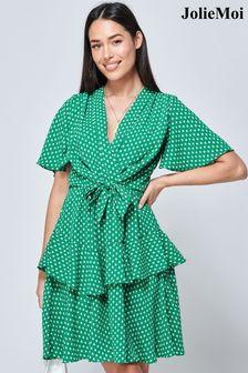 Superdry Shocking Red Box Quilt Fuji Jacket