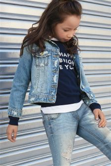 Distressed Western Jacket (3-16yrs)