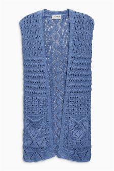 Knitted Waistcoat (3-16yrs)