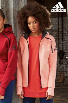 adidas Pink Zip Hoody