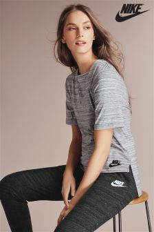 Nike Grey Advance 15 Top