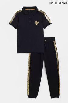 Beaverbrooks 9ct Rose Gold Bar Necklace