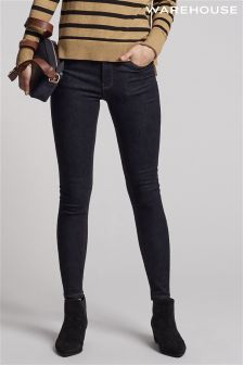 Warehouse Indigo Ultra Skinny Cut Jean