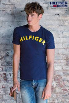 Hilfiger Denim Navy Logo T-Shirt