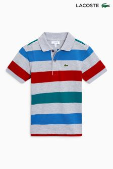 Lacoste® Large Stripe Polo