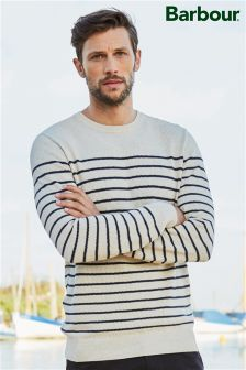 Barbour® Current Stripe Crew Neck Jumper