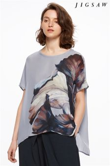 Jigsaw Multi Flower T-Shirt