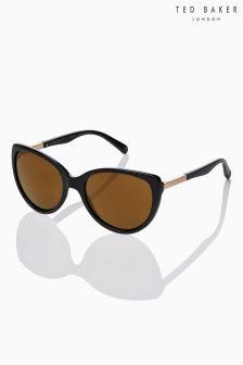 Ted Baker Black Belle Cat Eye Sunglasses