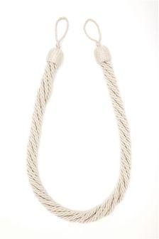 Set Of 2 Rope Tie Backs