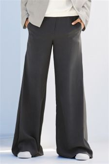Crepe Super Wide Trousers